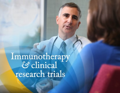 Immunotherapy & clinical research trials