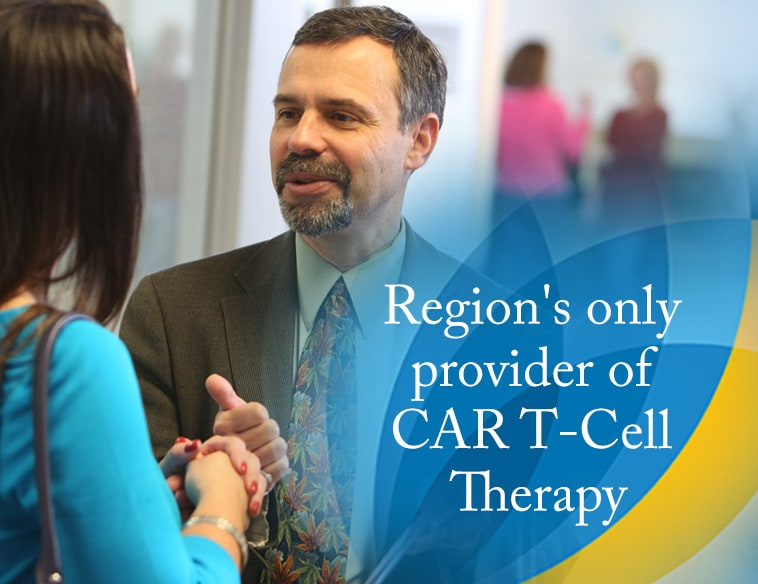 Region's only provider of CAR T-cell Therapy