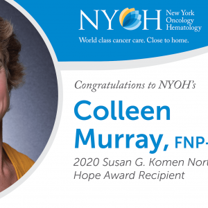 Susan G. Komen Northeastern NY names Colleen Murray 2020 Hope Award Recipient